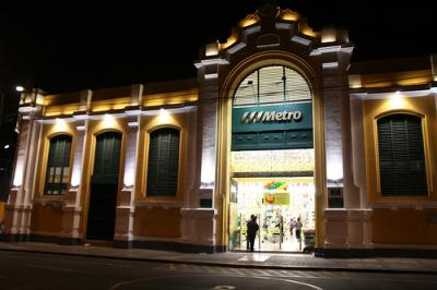 L'ancien marché de Barranco converti en supermarché